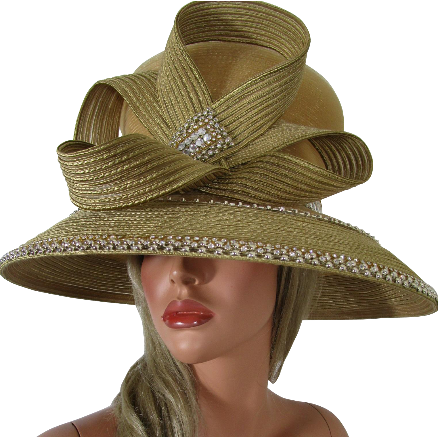 Church hat png. Shellie mcdowell couture derby