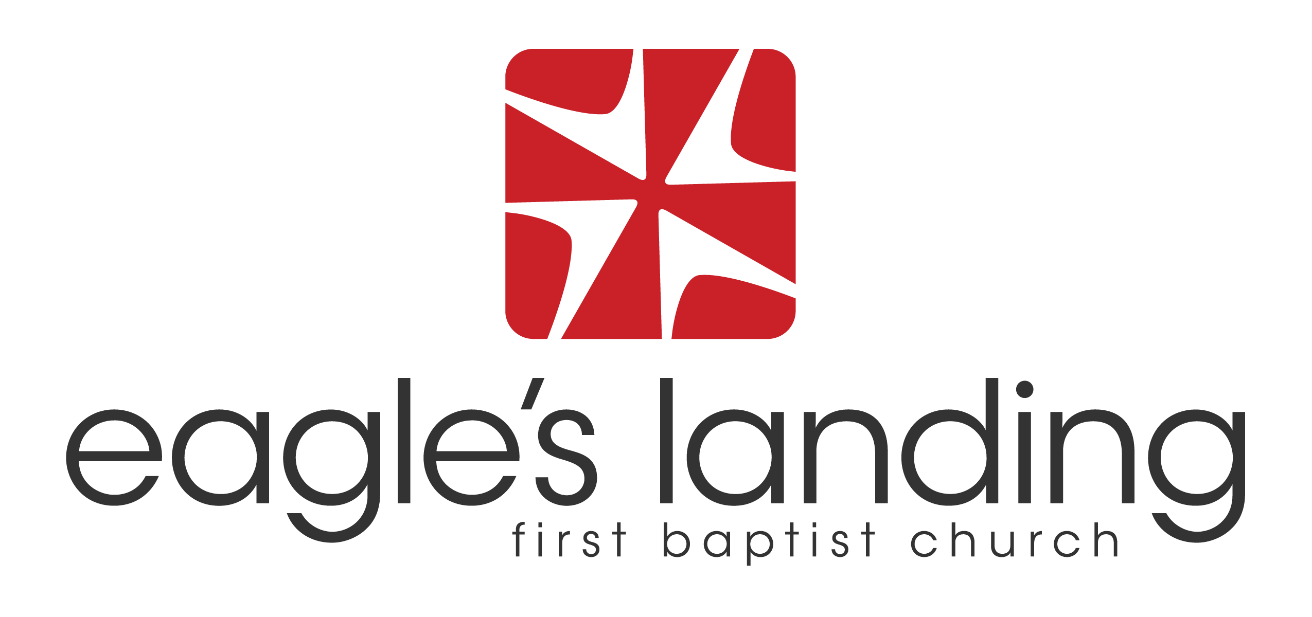 Church logos png. Eagles landing logo top