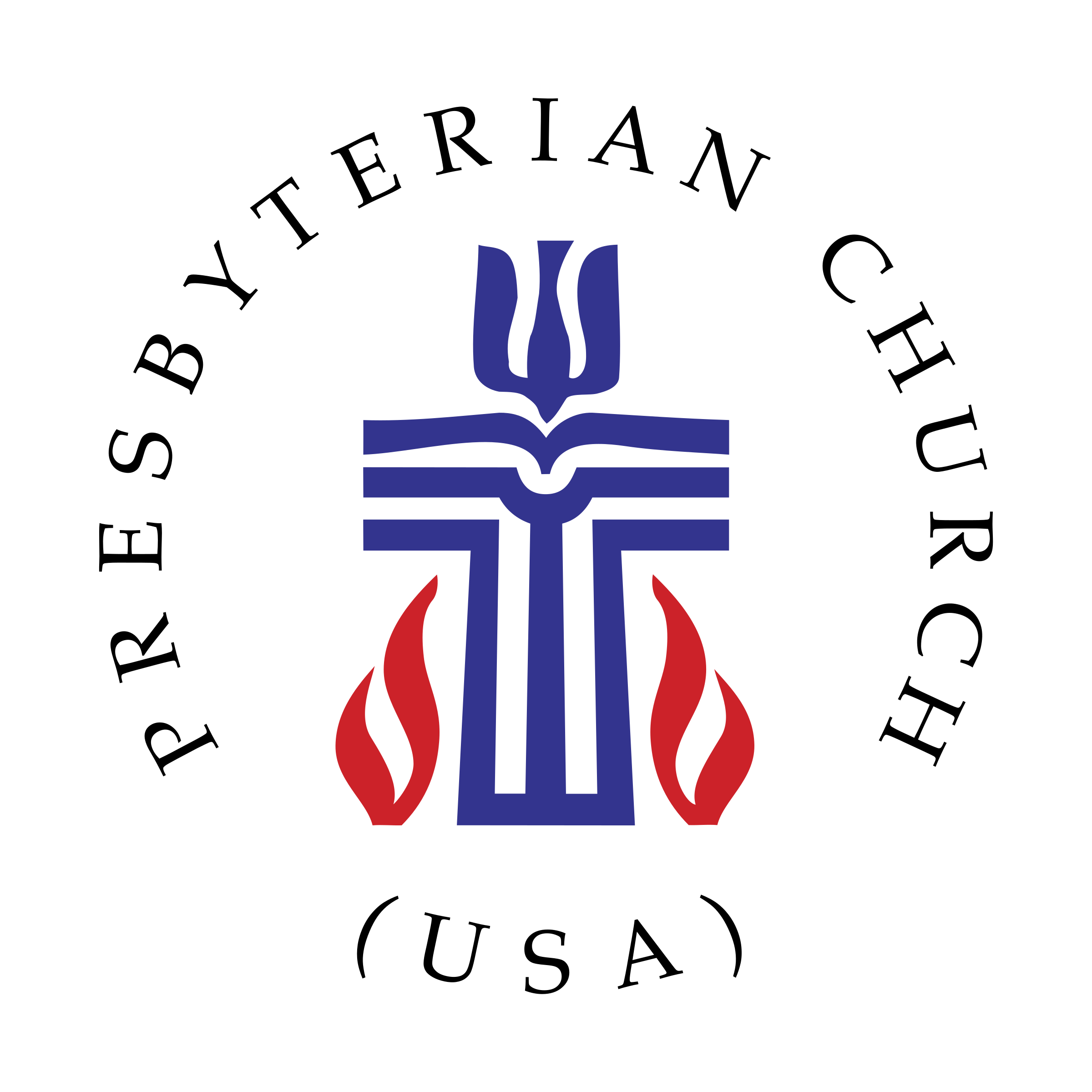Church logos png. Presbyterian logo transparent svg