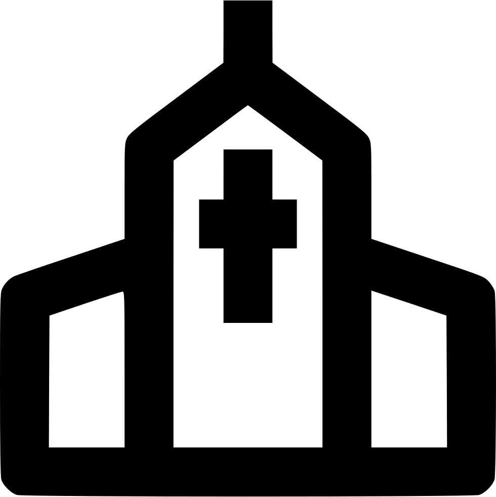 Church svg icon. Png free download onlinewebfonts