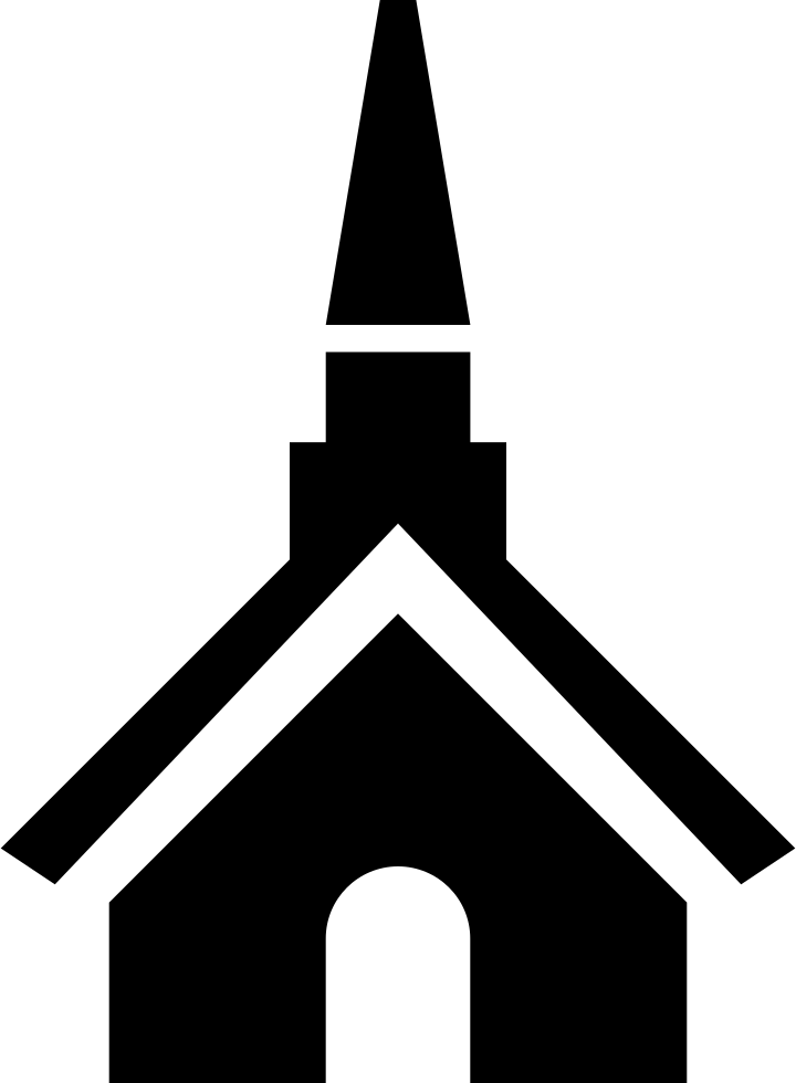 Church svg steeple clipart. Png icon free download