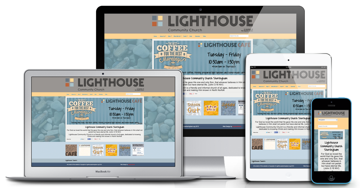 Church website png. Web hosting our control