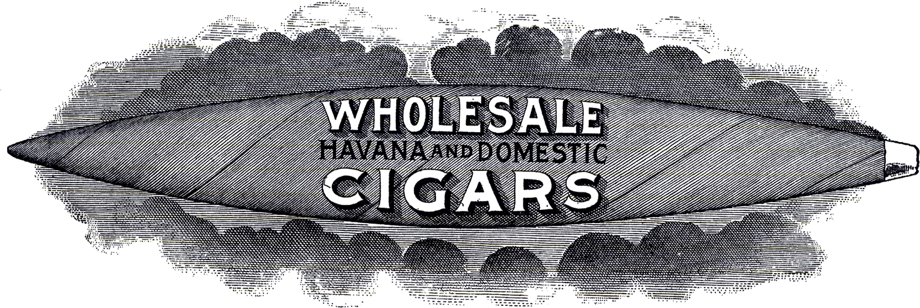 Cigar clipart vintage cigar. Sign steampunk the graphics