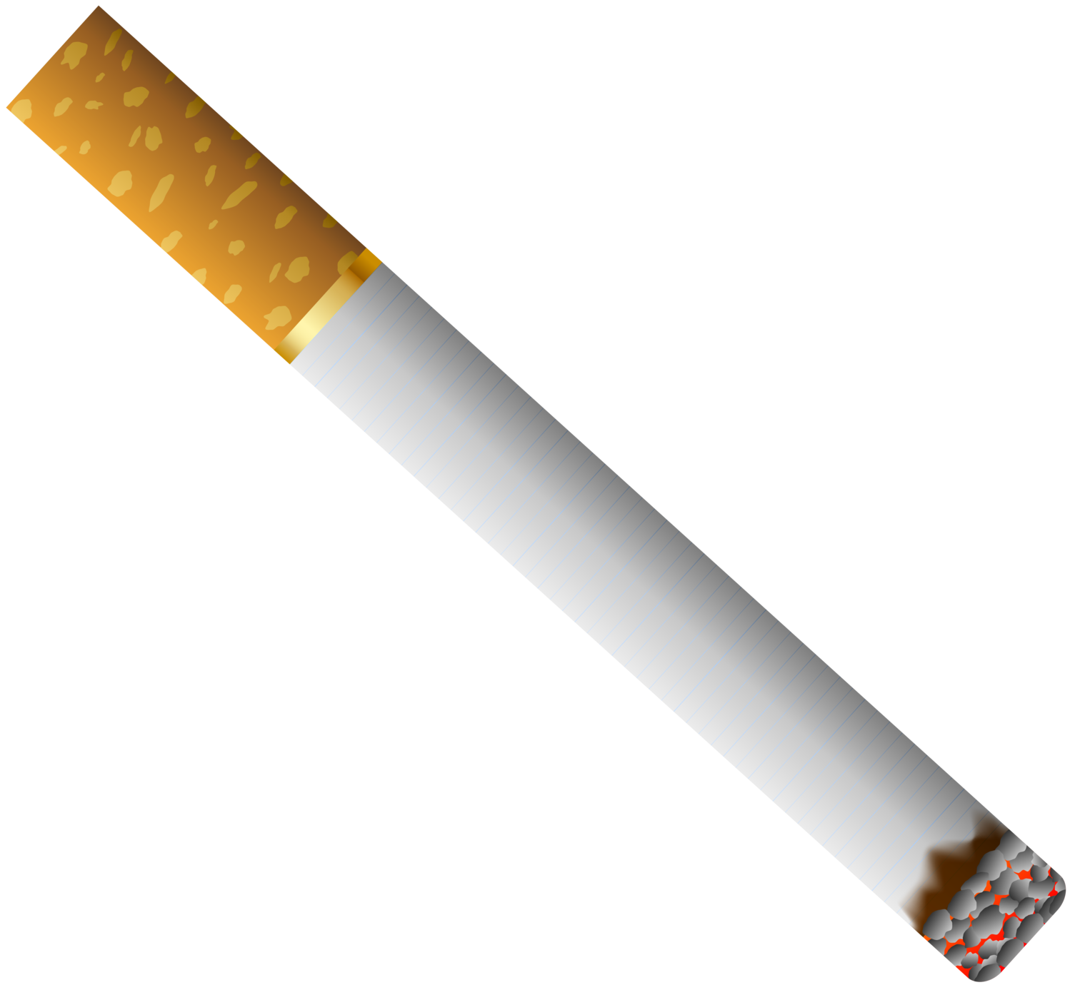 Cigarette png. With filter clipart