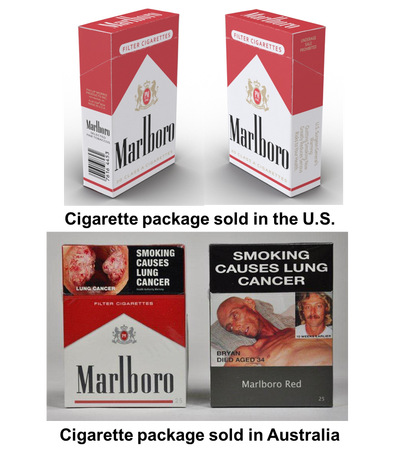 Cigarette warning labels png