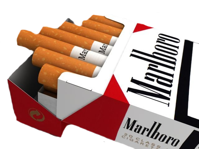 Cigarettes transparent pack. Of psd official psds