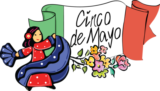 Cinco de mayo clipart. Holidays of the world
