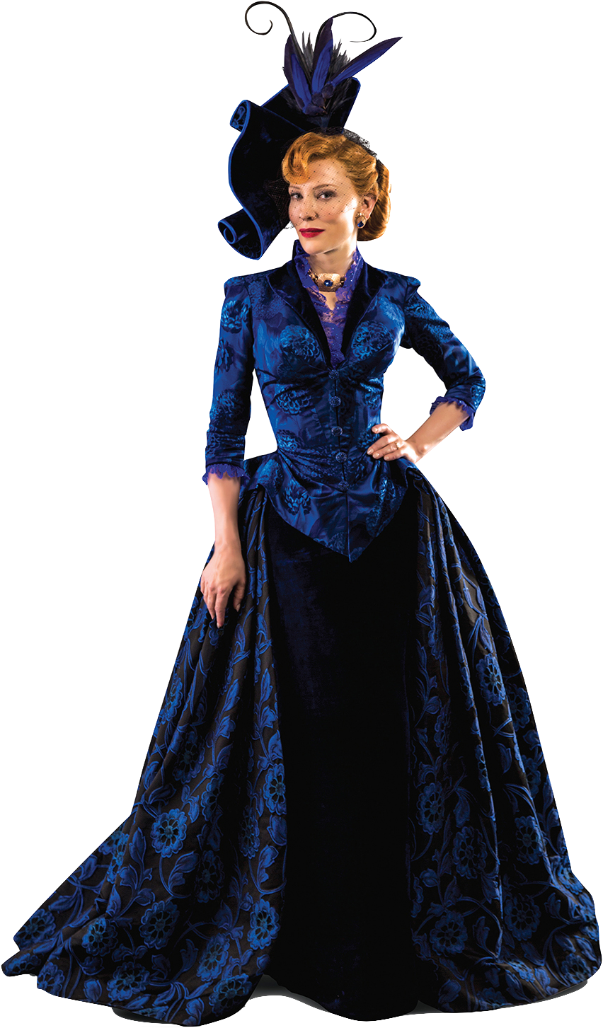 Lady saw png. Cate blanchett as tremaine