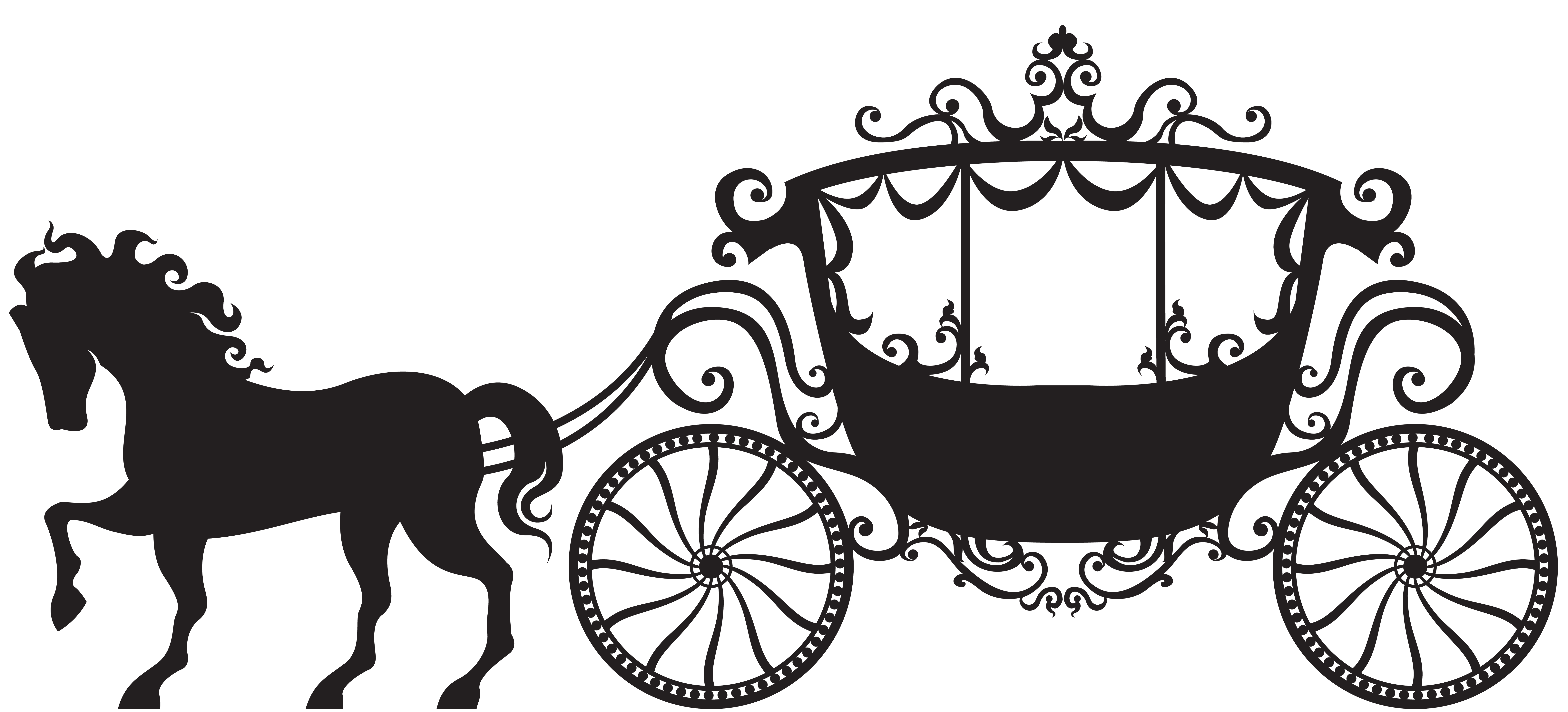 Cinderella carriage silhouette png. Pin by home on