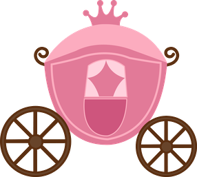 Cinderella carriage silhouette png. Bdfairytaleprincess minus crown pinterest