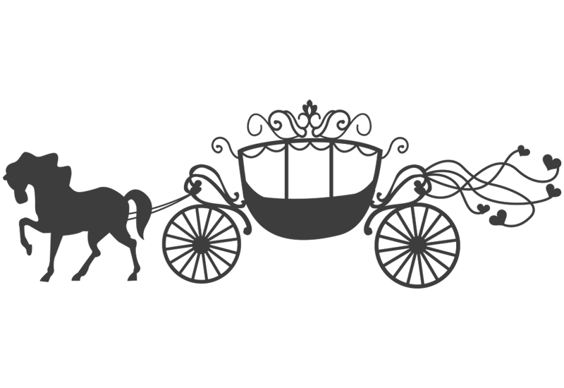 Cinderella carriage silhouette png. Image result for carruajes