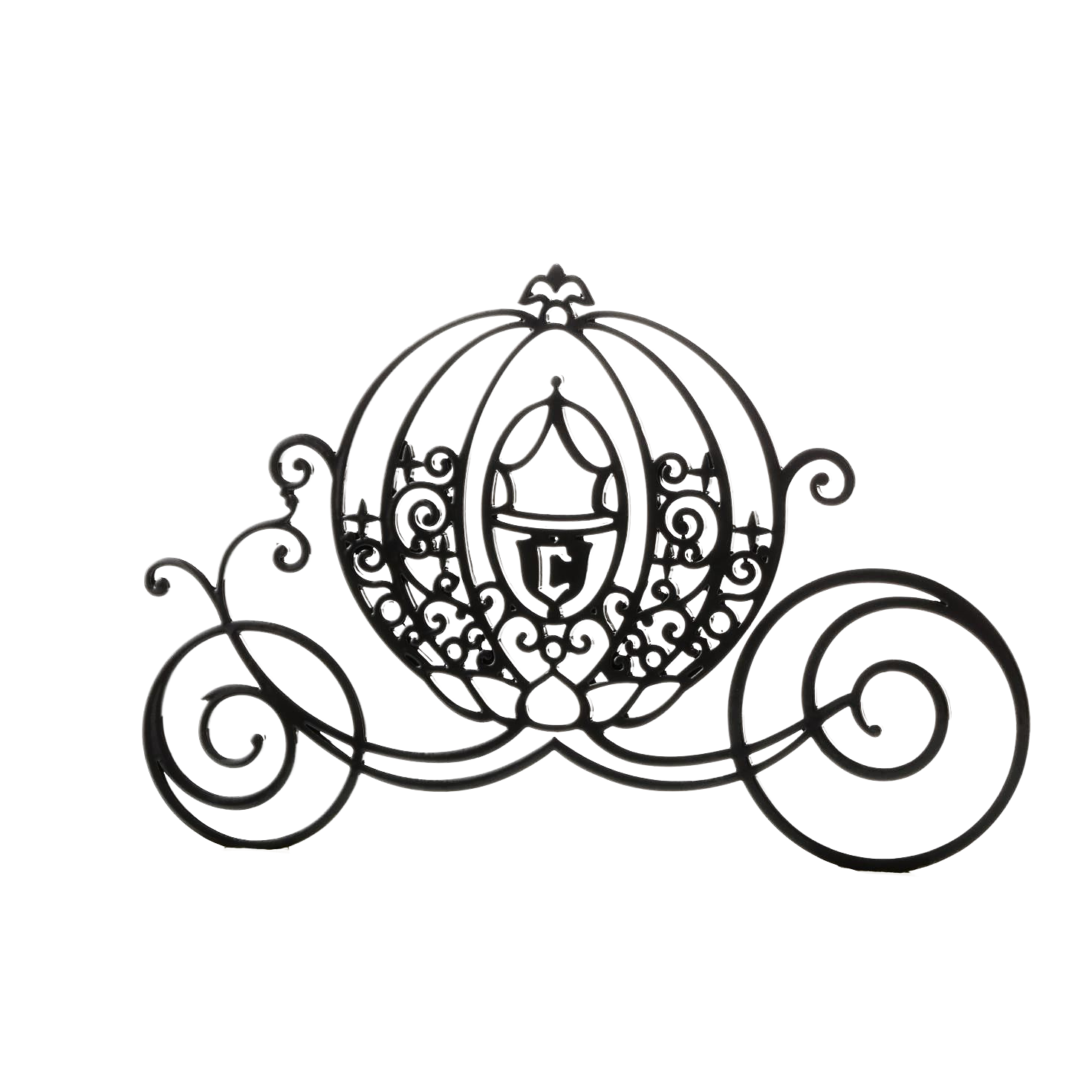 Cinderella carriage silhouette png. Mickey mouse black cartoon