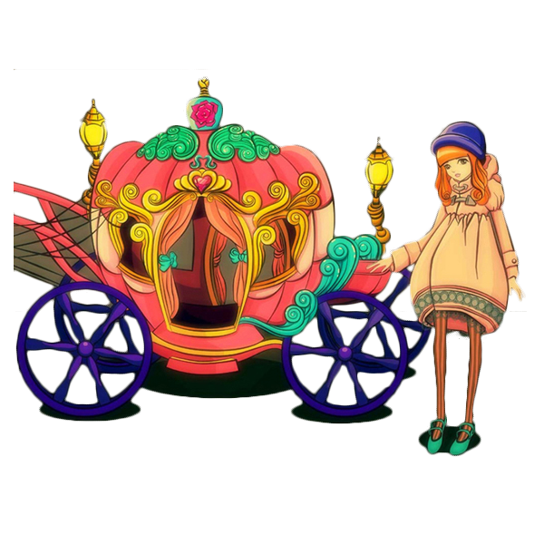 Cinderella coach png. Pumpkin carriage clipart at