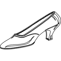 Cinderella shoes png. Download shoe category clipart