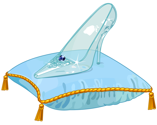 Cinderella shoes png. Glass slipper vector clipart