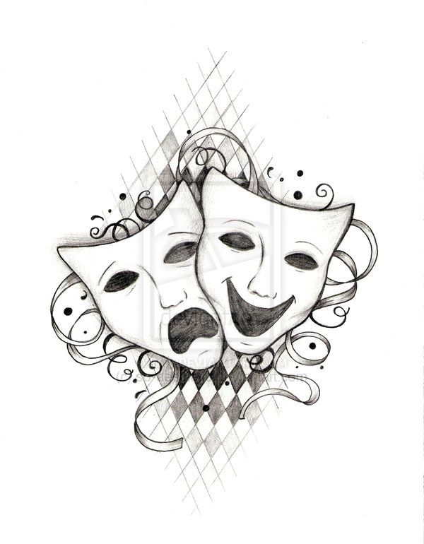 I love that s. Cinema clipart drama greek mask vector royalty free library