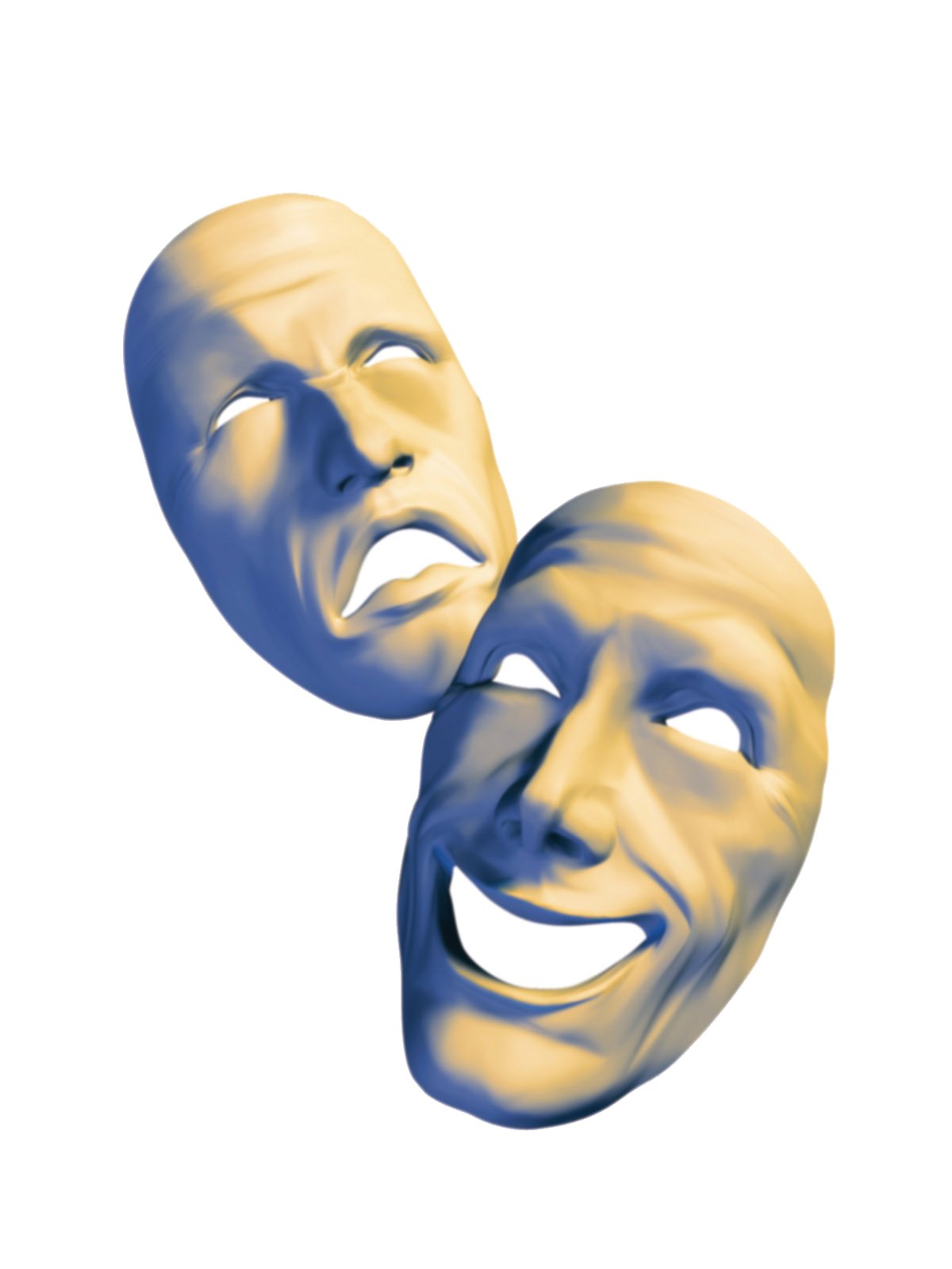 Free theatre download clip. Theater vector laughing mask picture library stock