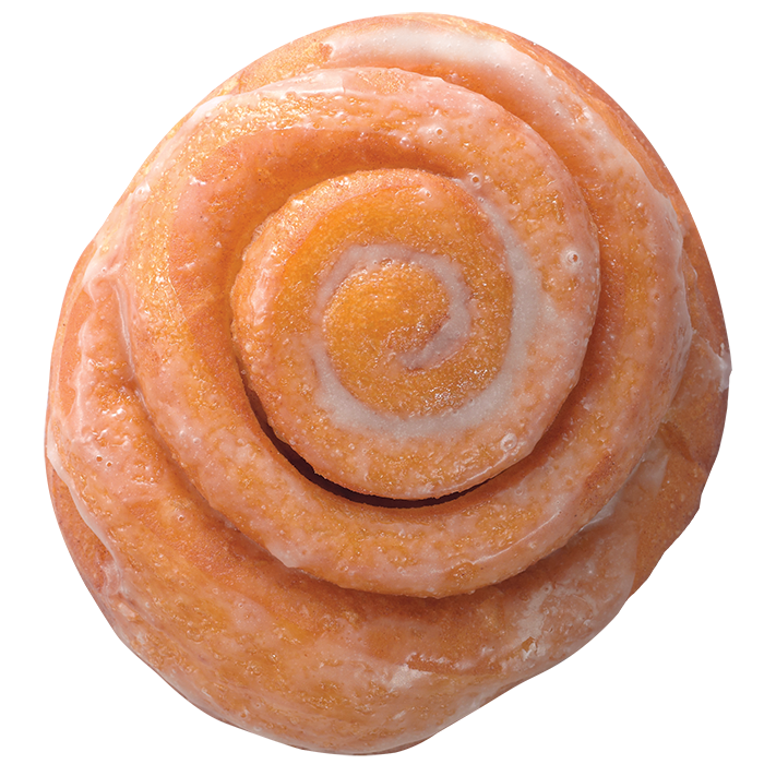 cinnamon transparent roll