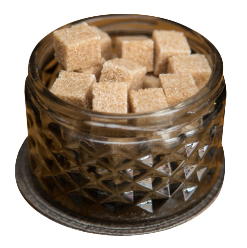 Cinnamon sugar shaker clipart png. Brown cane cubes image