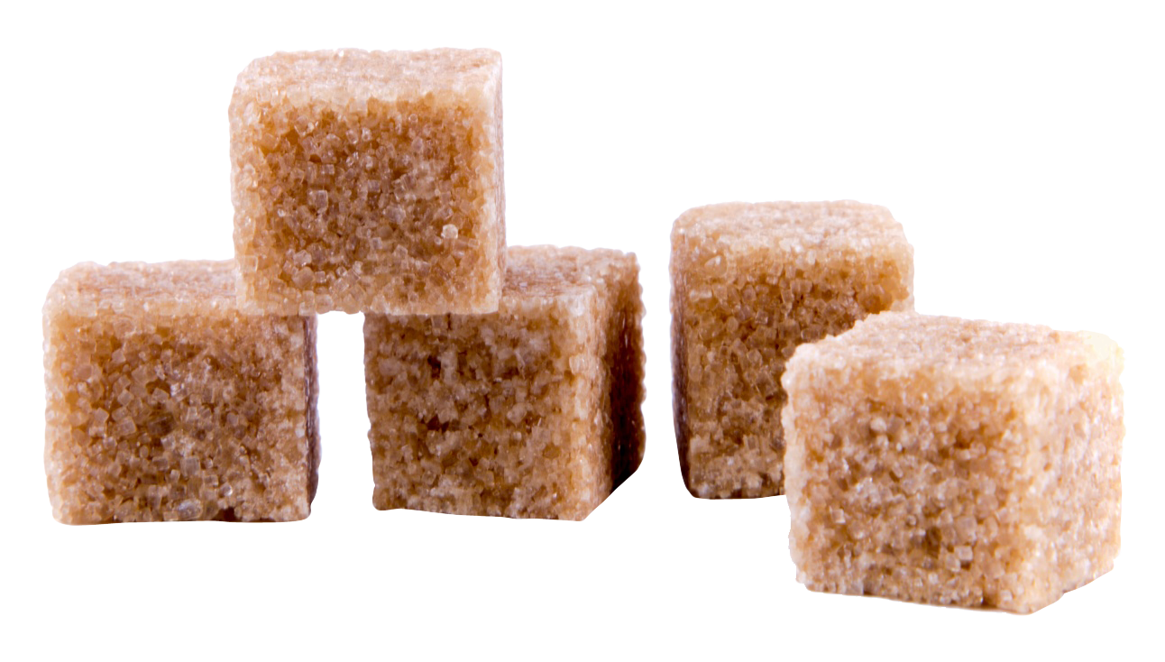 Sugar vector brown. Cane cubes png transparent