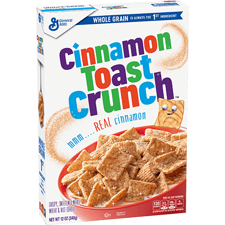 Cinnamon toast crunch png. Whole grain cereal