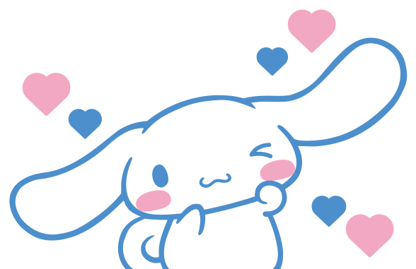 cinnamoroll transparent pixel art