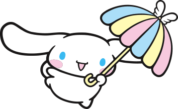 Cinnamoroll transparent sanrio. Friend of the month
