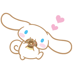 Cinnamoroll transparent tumblr. Heartwarming goodness line stickers