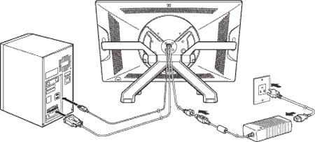 Cintiq drawing cable. Connect to your computer