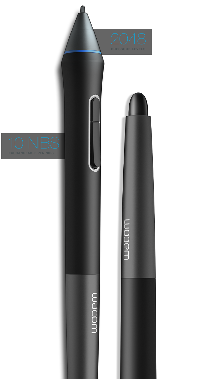 Latest drawing pen. Cintiq hd graphic tablet