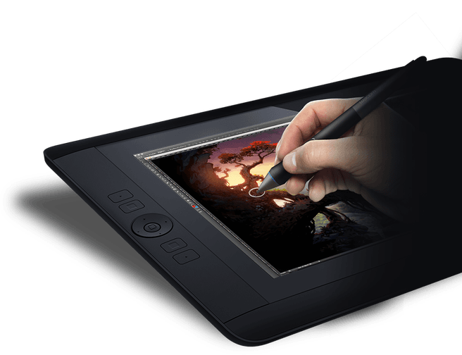 Cintiq drawing tablet. Wacom introduces hd with