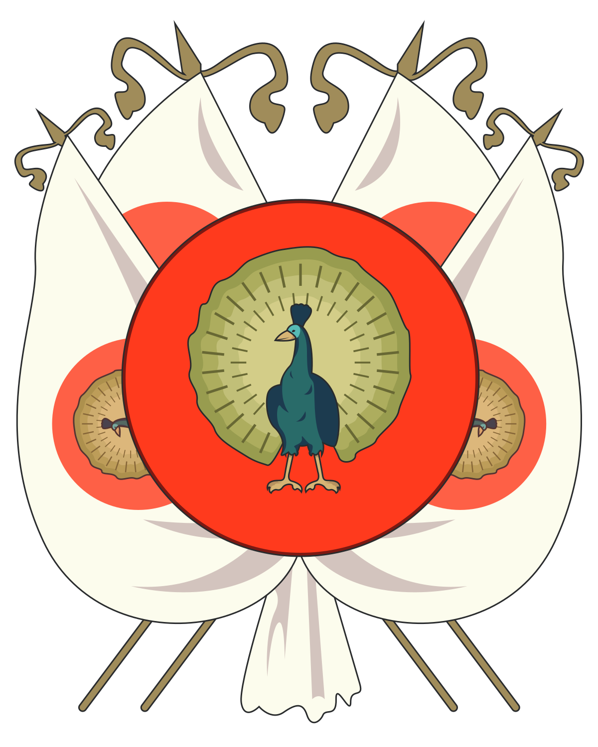 Circle arms png. Konbaung dynasty wikipedia