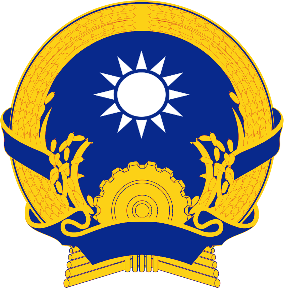 Circle arms png. Image coat of indochina