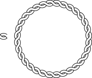 Outline vector border. Circle borders png image