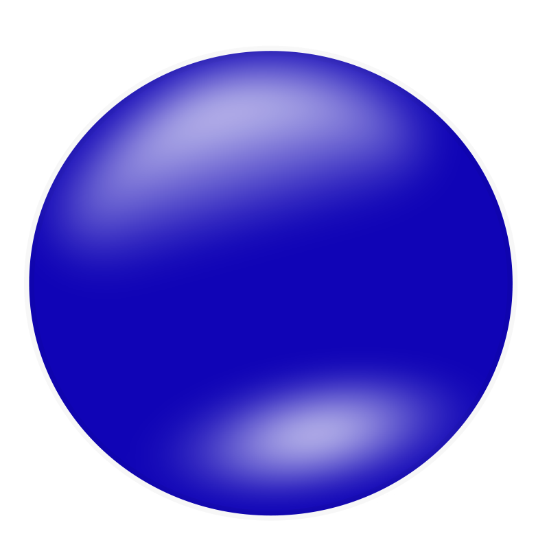 blue circle icon png