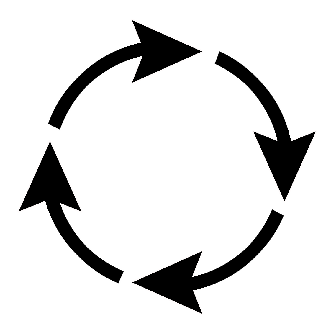 Circle clipart arrow. All kinds of sign