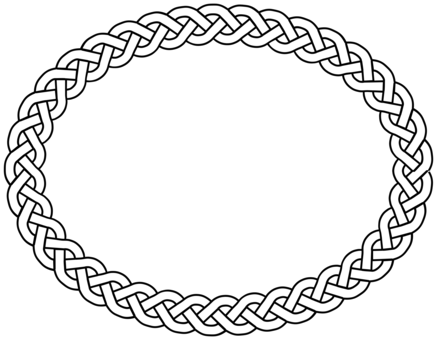 Circle clipart braided. Celtic knot celts braid