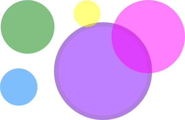 circle clipart colored