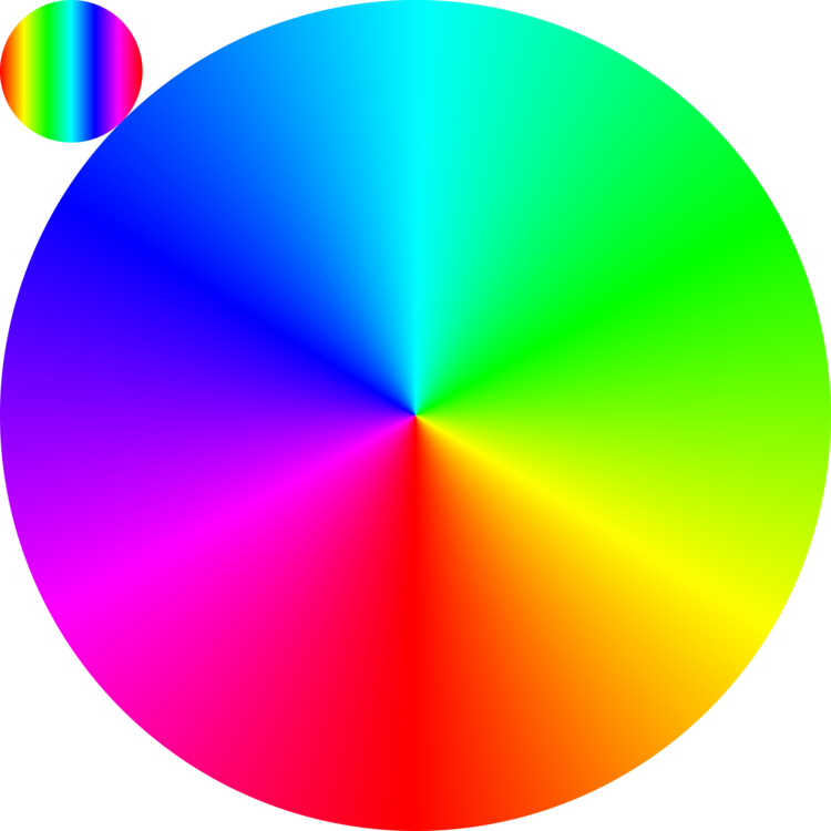 Circle clipart colored. Color chart wheel rgb