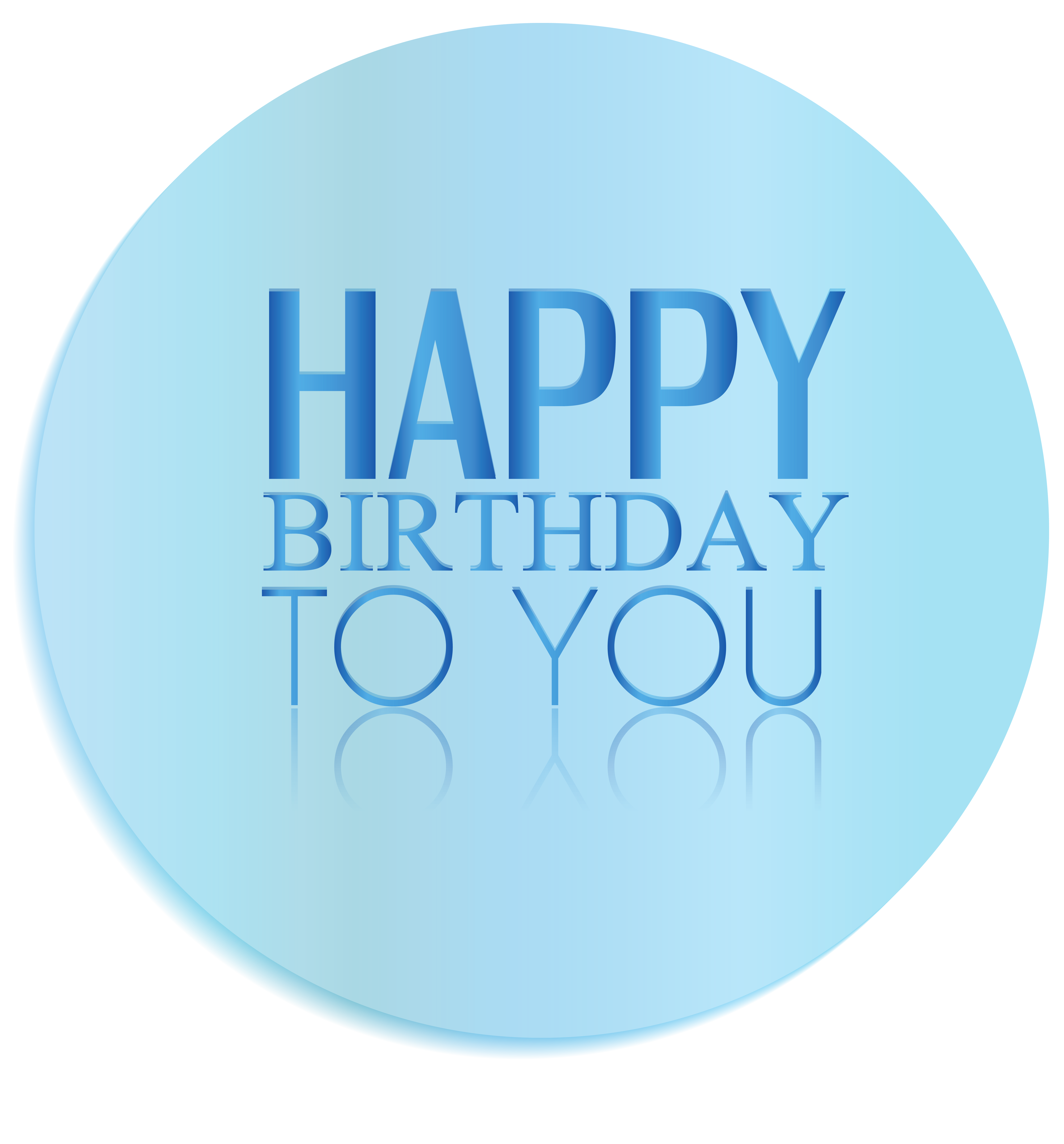 Circle clipart happy birthday. Transparent oval decor png