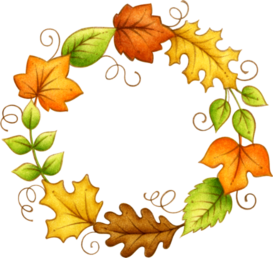 Circle clipart leaf. Leaves fall in a