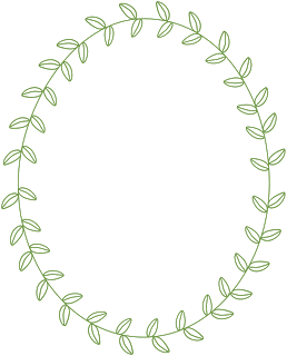 Circle clipart leaf. Free frames borders vine