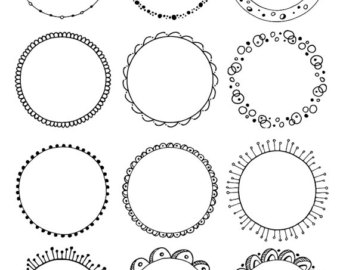 circle clipart tribal