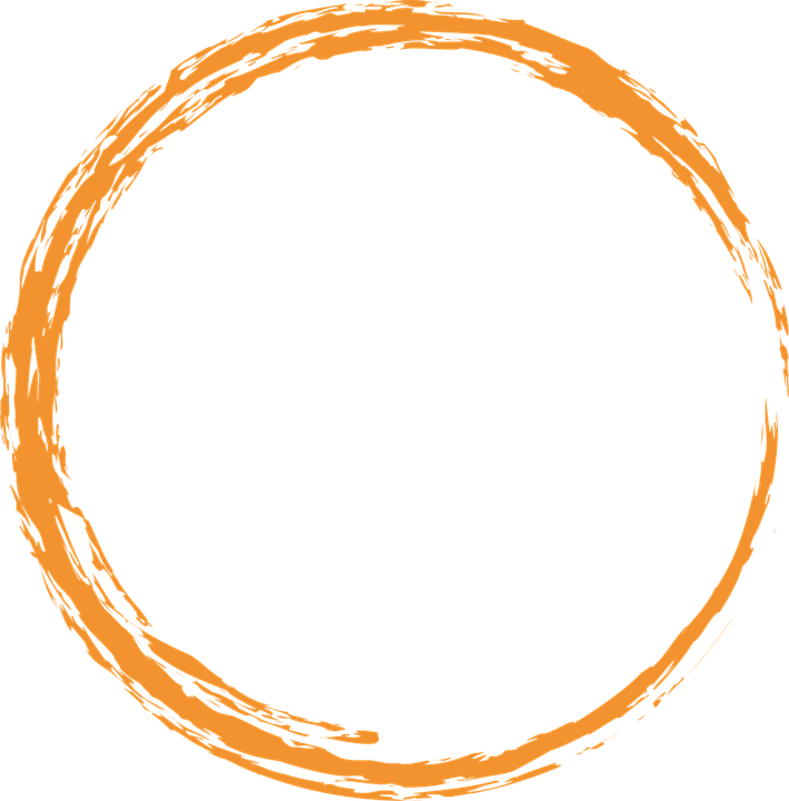 Circle designs png. Transparent images pluspng orange