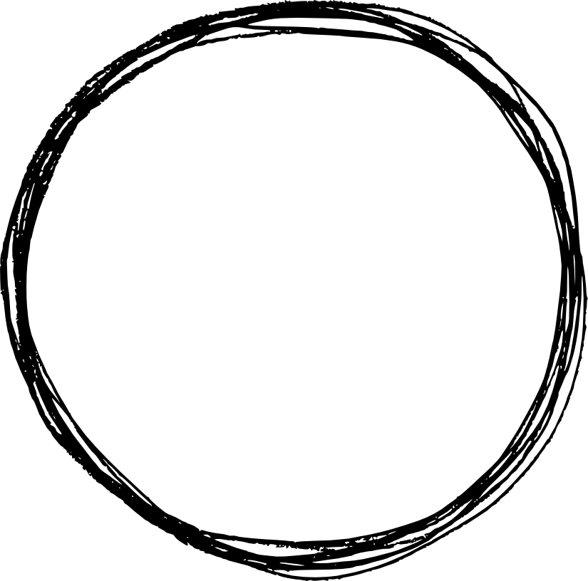 Circle drawing png. Scribble pencil transparent
