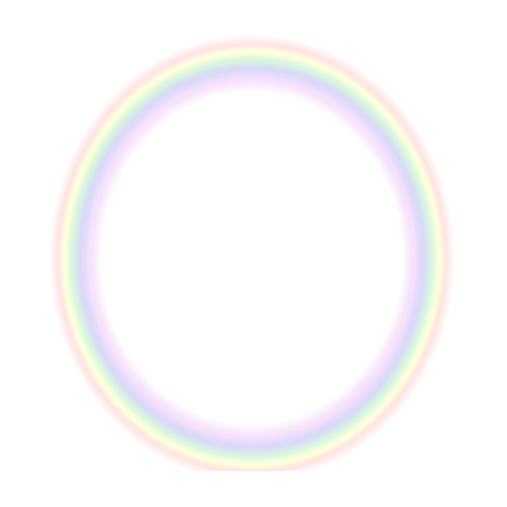 Light ring png. Rainbow circle colorful colors