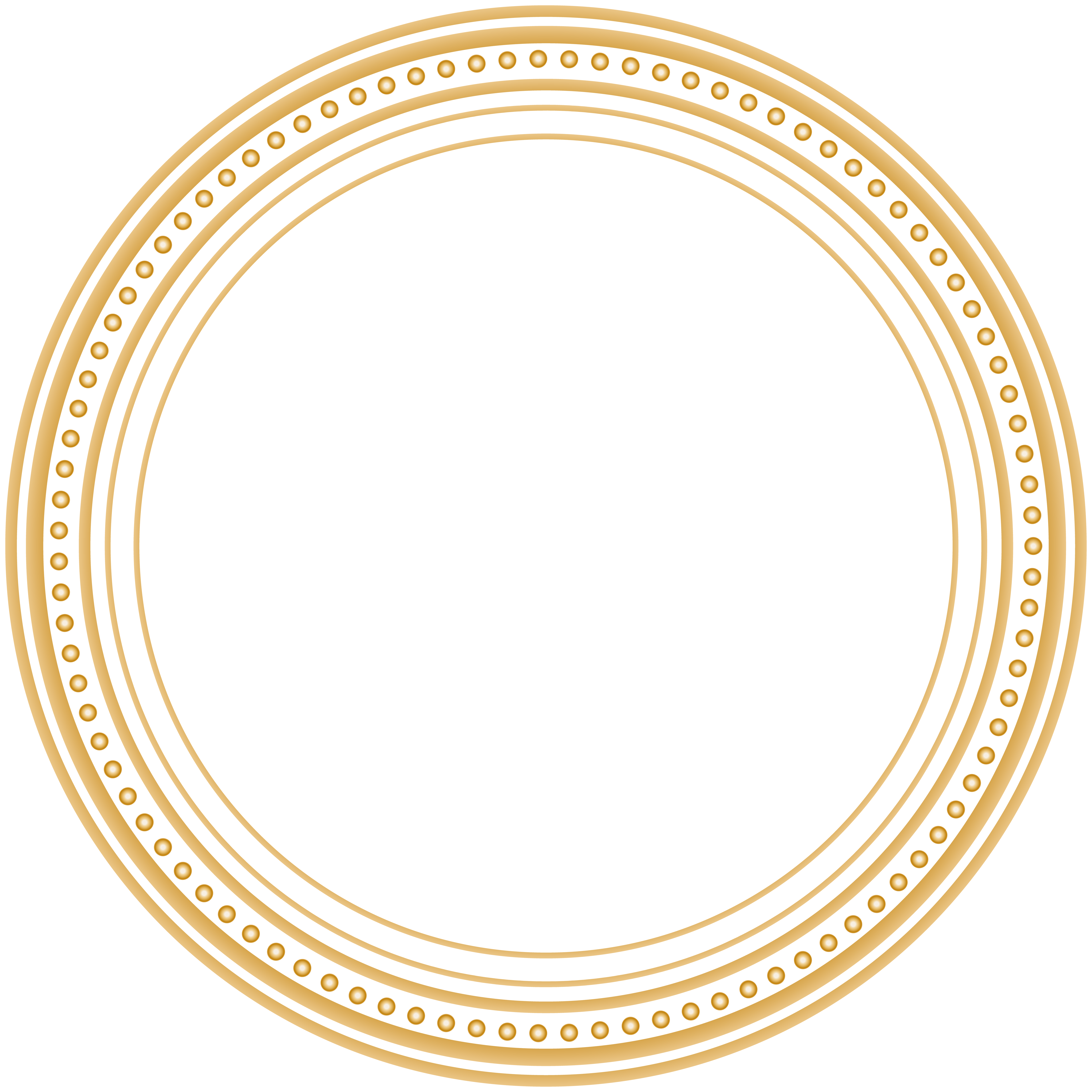 Round art png image. Frame clip clipart freeuse library