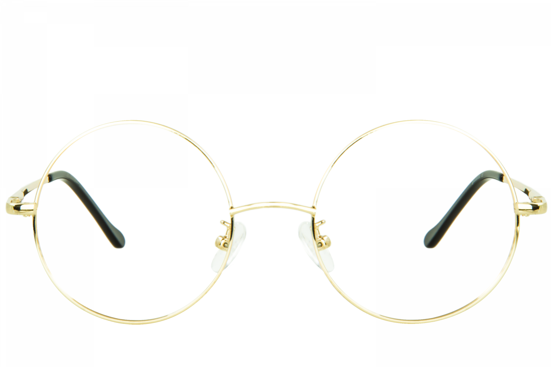 Round glasses png. Hansel gold polette