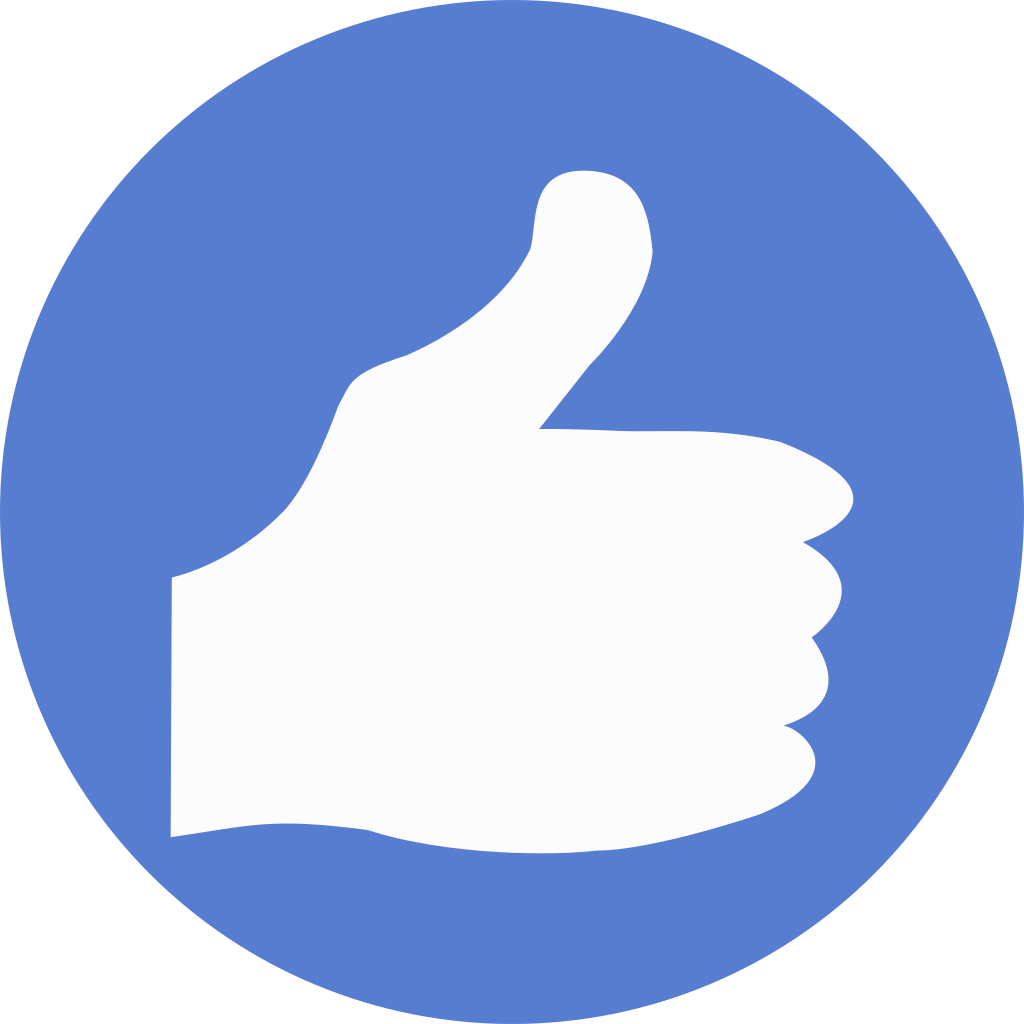 Circle hand game png. Election thumbs up icon