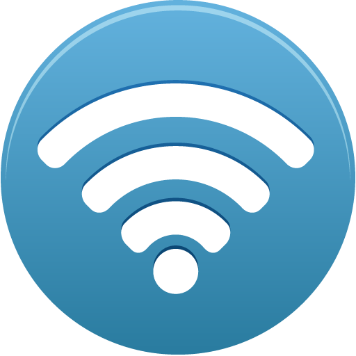 Wifi png icon. Circle pretty office iconset
